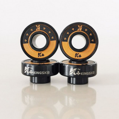 Kingsk8™ King of Clubs Ceramic Skateboard Bearings