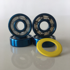 Kingsk8 Blue Anodized Super Skateboard Bearings