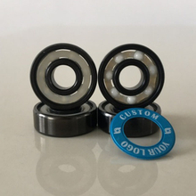 Kingsk8 Black Oxide ZrO Ceramic Skateboard Bearings