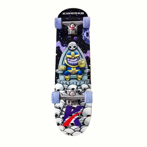 "KINGSK8 Professional Complete skateboard 8.0x32.125"" Thanos"