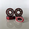 Kingsk8 Red Anodized Super Skateboard Bearings